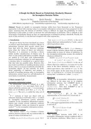 A Rough Set Model Based on Probabilistic Similarity Measure for ...