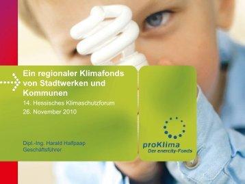 proKlima - Klimaschutzforum Hessen