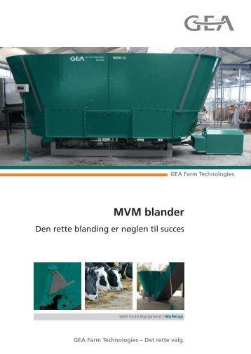 MVM blander - Mullerup