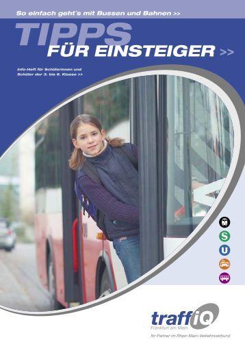 Tipps für Einsteiger - traffiQ - das Mobilitätsportal für Frankfurt am Main