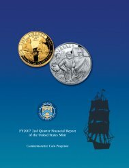 Second Quarter - The United States Mint