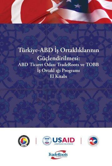 Türkiye-ABD lş Ortaklıklarının Güçlendirilmesi: - US Department of ...