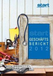 Geschäftsbericht 2012 - START Zeitarbeit NRW GmbH