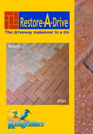 Restore-A-Drive Cat 0108-001 - Kingfisher Building Products