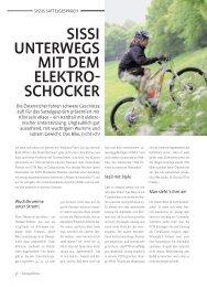 SISSI UNTERWEGS MIT DEM ELEKTRO- SCHOCKER