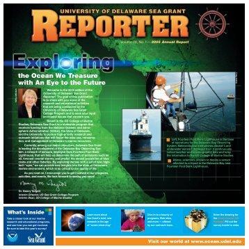 Reporter 2005-FinalTBdb4 - Delaware Sea Grant
