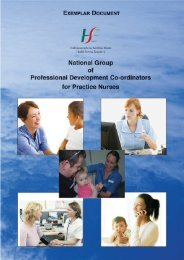 Professional development Co-ordinators for Practice nursing