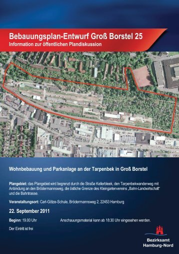 Planentwurf Gross Borstel 25 Sept 2011 - Tarpenbek Greens eV