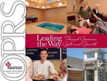 OPRS Annual Report - Ohio Presbyterian Retirement Services