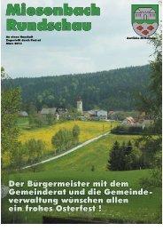 MBR Ostern - Miesenbach