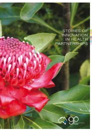 STORIES OF INNOVATION IN HEALTH PARTNERSHIPS - GP NSW