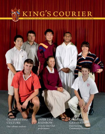 celebrating culture over the rainbow collegial ... - King's College