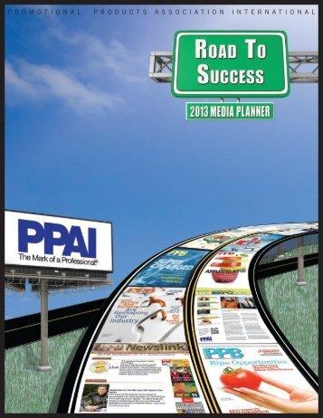 P R O M O T I O N A L  P R O D U C T S A S ... - PPAI Publications