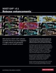 Release enhancements - BAE Systems GXP Geospatial eXploitation ...