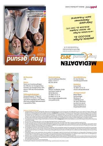 frau gesund - publimed - Medizin und Medien GmbH