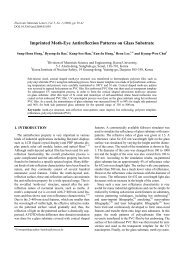 Imprinted Moth-Eye Antireflection Patterns on Glass ... - ResearchGate