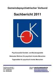 Vorwort zum Sachbericht 2012-03-15 - LOK Stadtallendorf