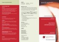 programme - Centro Cardiologico Monzino