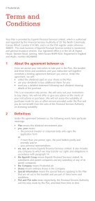 (DRIP) terms & conditions - Prudential plc - Page 6