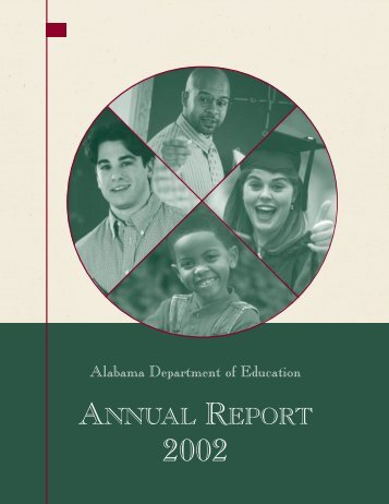 Annual Report 2002 - Alabama Department of Education