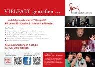 News- letter - Stadttheater Amberg