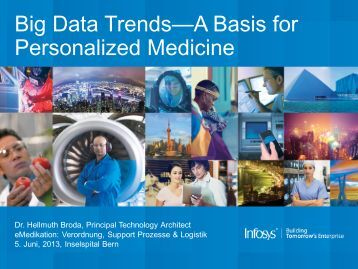 Big Data Trends—A Basis for Personalized Medicine - eMedikation