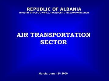 AIR TRANSPORTATION SECTOR - ANTS