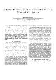 A Reduced Complexity RAKE Receiver for WCDMA ... - ResearchGate