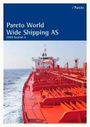 Pareto World Wide Shipping AS - Pareto Project Finance