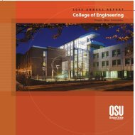2005 - College of Engineering - Oregon State University