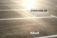 OVERVIEW OF DEVELOPMENT SITES - blvd mitte