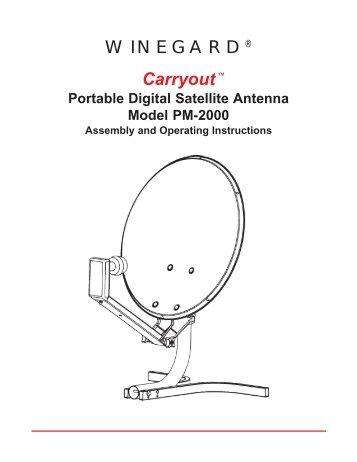 winegard mv-3500t in motion rv satellite system
