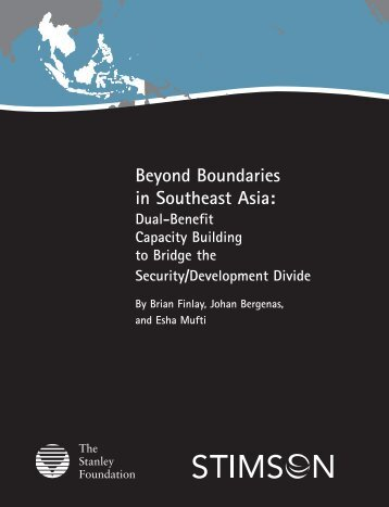 Beyond Boundaries in Southeast Asia: - The Stanley Foundation