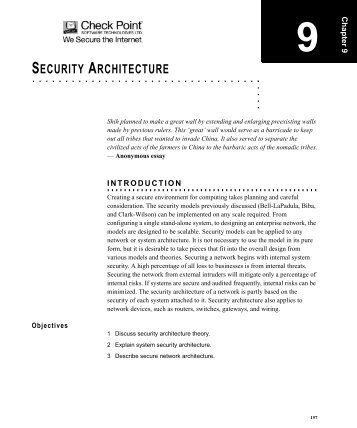 Principles of Network Security