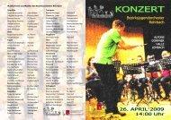 KONZERT - Rohrbach - Oberösterreichischer Blasmusikverband
