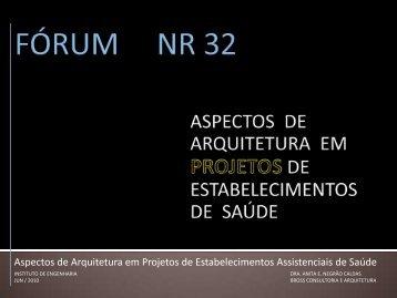 NR 32 - Instituto de Engenharia