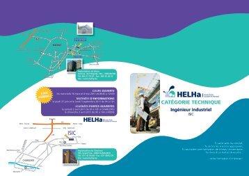 Les études d'ingénieur industriel à l'ISICHt - HELHa