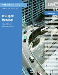 Intelligent transport: How cities can improve mobility