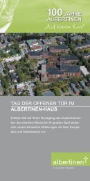 tAg Der oFFeNeN tÜr iM AlbERTINEN-HAUS - Niendorfer TSV