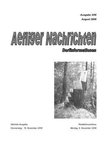 Ausgabe 3/09 August 2009 - Aefligen