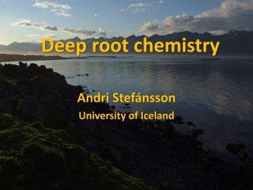 Deep root chemistry - Georg