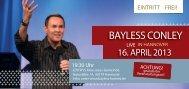BAYLESS CONLEY - Christengemeinde Elim Hannover