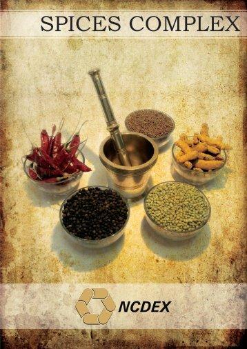 spices complex - NCDEX