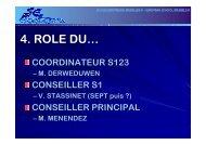 P5 to S1 presentation eeb3-2008 - bruxelles iii