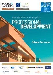 PROFESSIONAL DEvELOPmENt - Urban Development Institute of ...