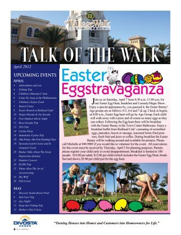 April - Village Walk of Bonita Springs