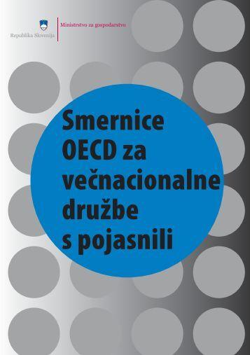 Smernice OECD za večnacionalne družbe s pojasnili