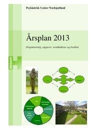 Årsplan 2013 - Region Hovedstadens Psykiatri