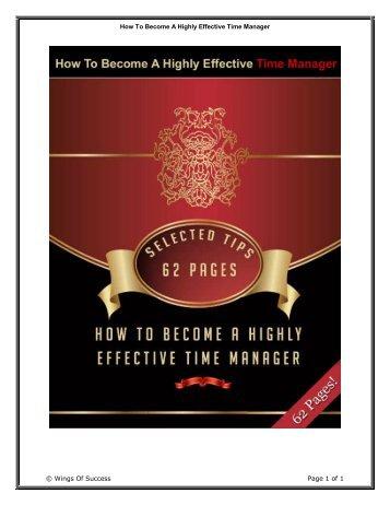 Time Management - Mompreneur Asia