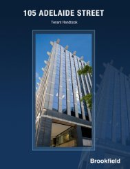 Tenant Handbook (Full Version) - Brookfield Properties